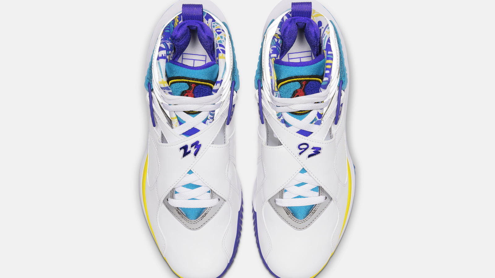 NikeCourt Air Zoom Zero x Air Jordan 8 Aqua Official Images and Release Date 2