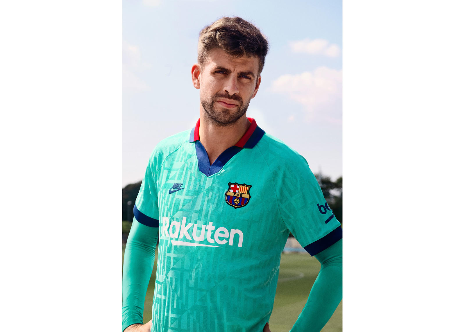 Nike FC Barcelona Boys Track Suit Third Kit Stadium