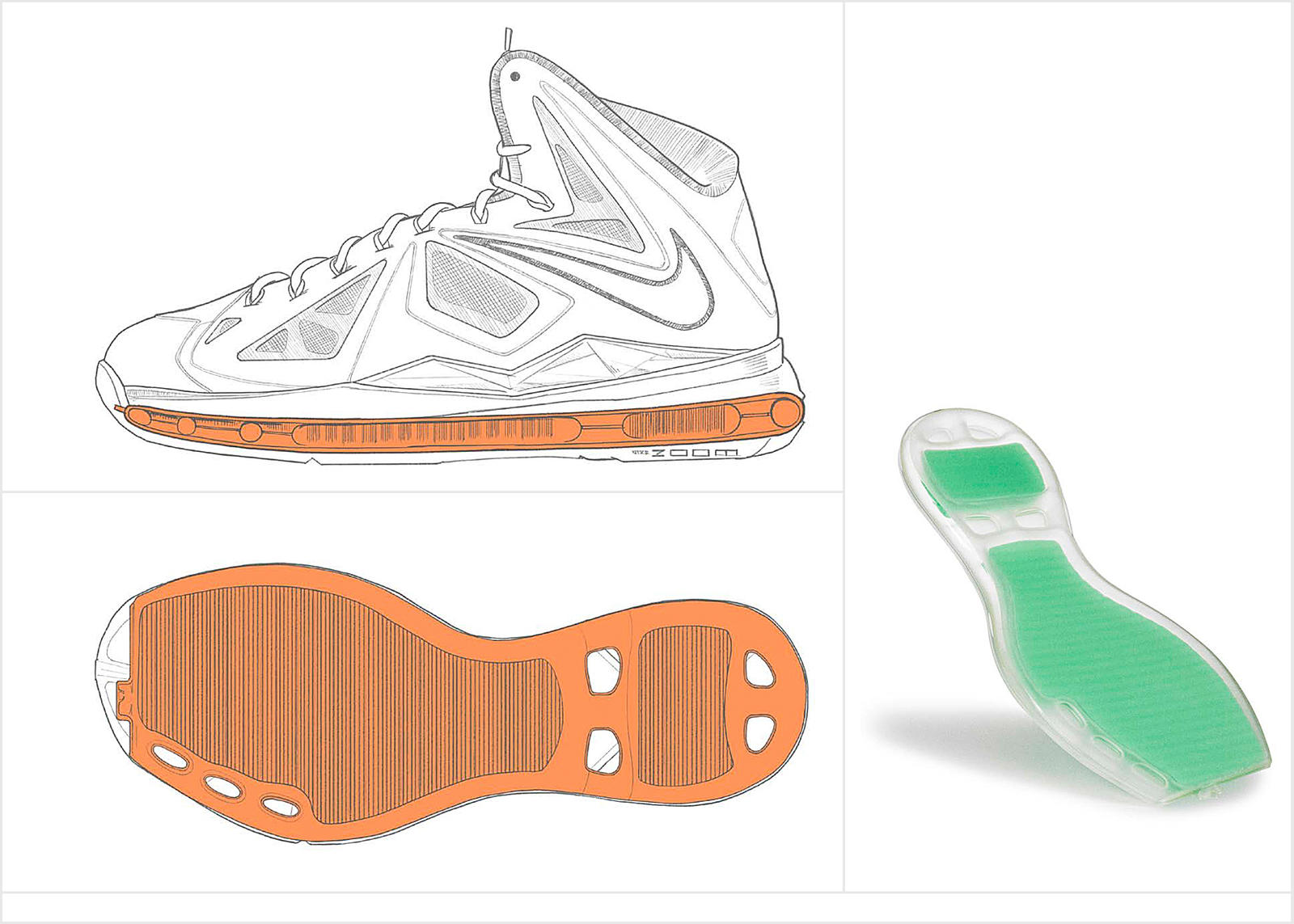 LeBron James Signature Shoe Evolution 9