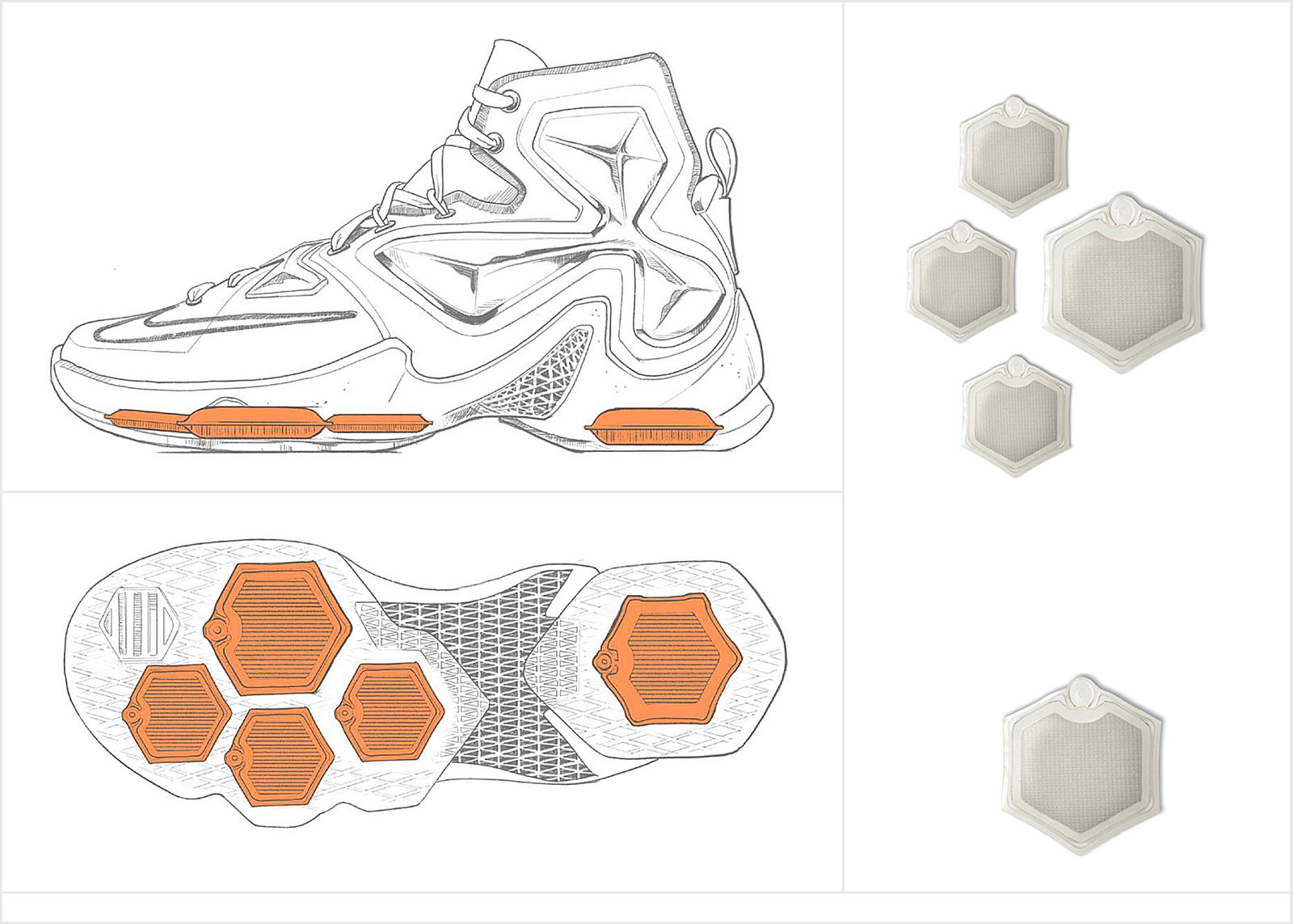 LeBron James Signature Shoe Evolution 12