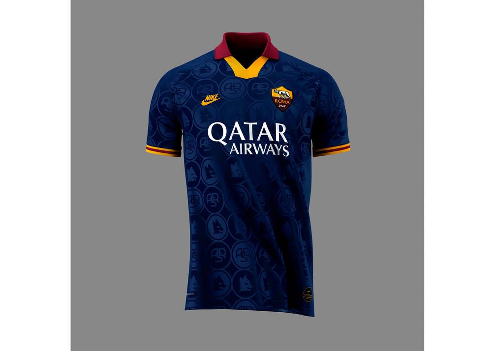 AS Roma 2019-20 Third Kit 0