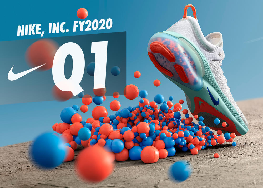 NIKE, Inc. Reports Fiscal 2020 First Quarter Results