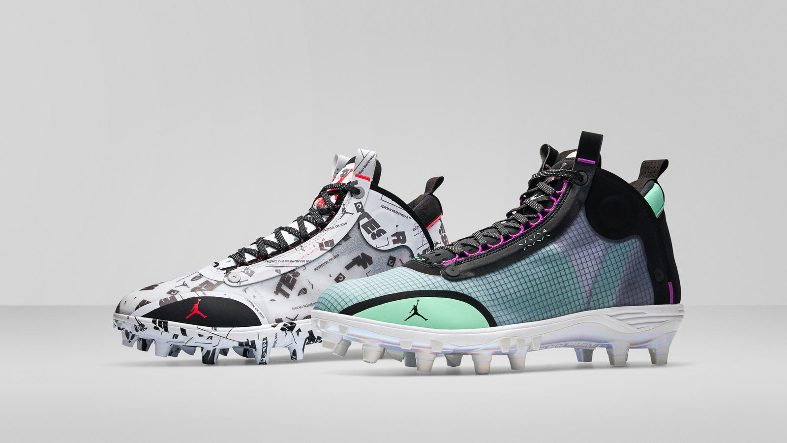 Air Jordan 34 Baseball and Football Cleats Official Images 4