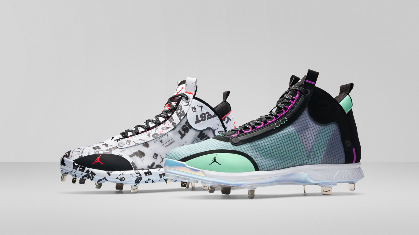 Air Jordan 34 Baseball and Football Cleats Official Images 5