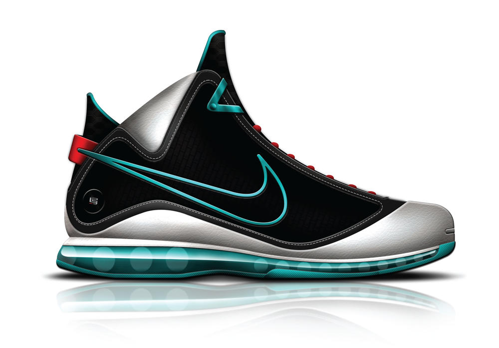 The Nike Air Max LEBRON VII Achieves Retro Status