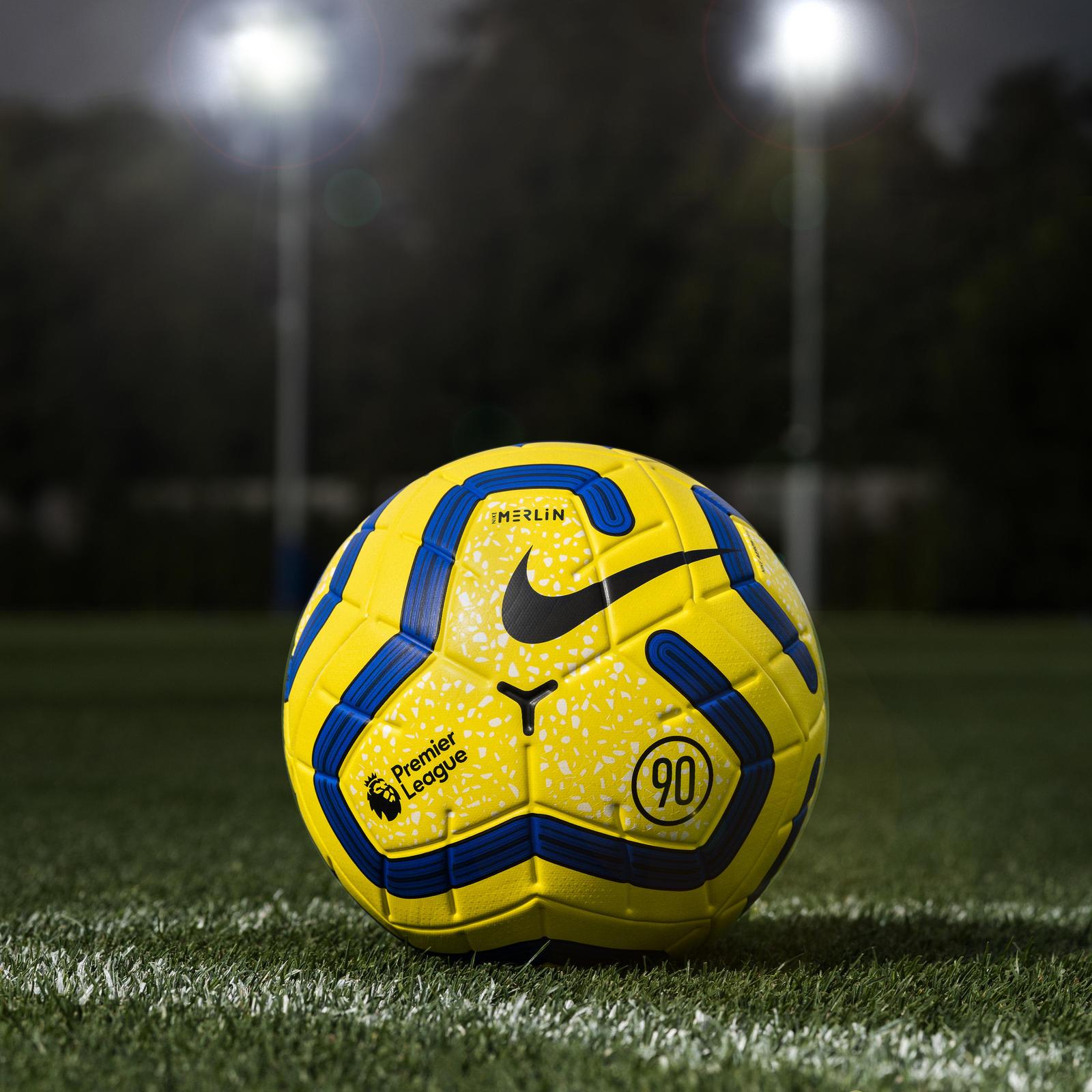 desconcertado Congelar transmitir  Premier League Nike Hi-Vis Merlin Match Ball 2019-20 - Nike News