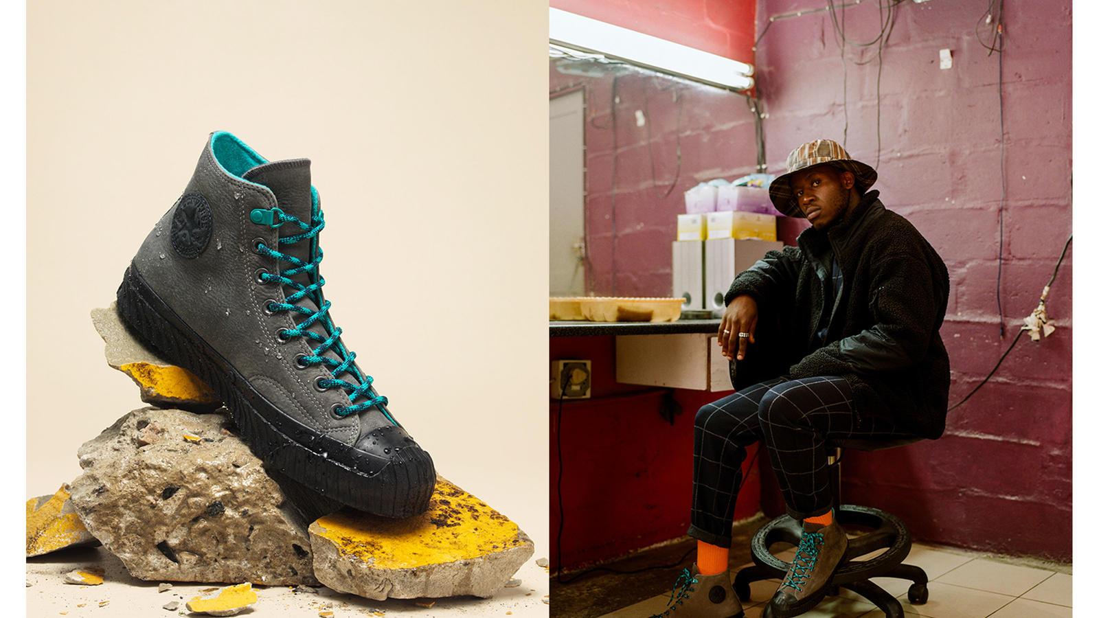 BOSEY MC HI Converse Bosey MC High Top Sneaker Schwarz