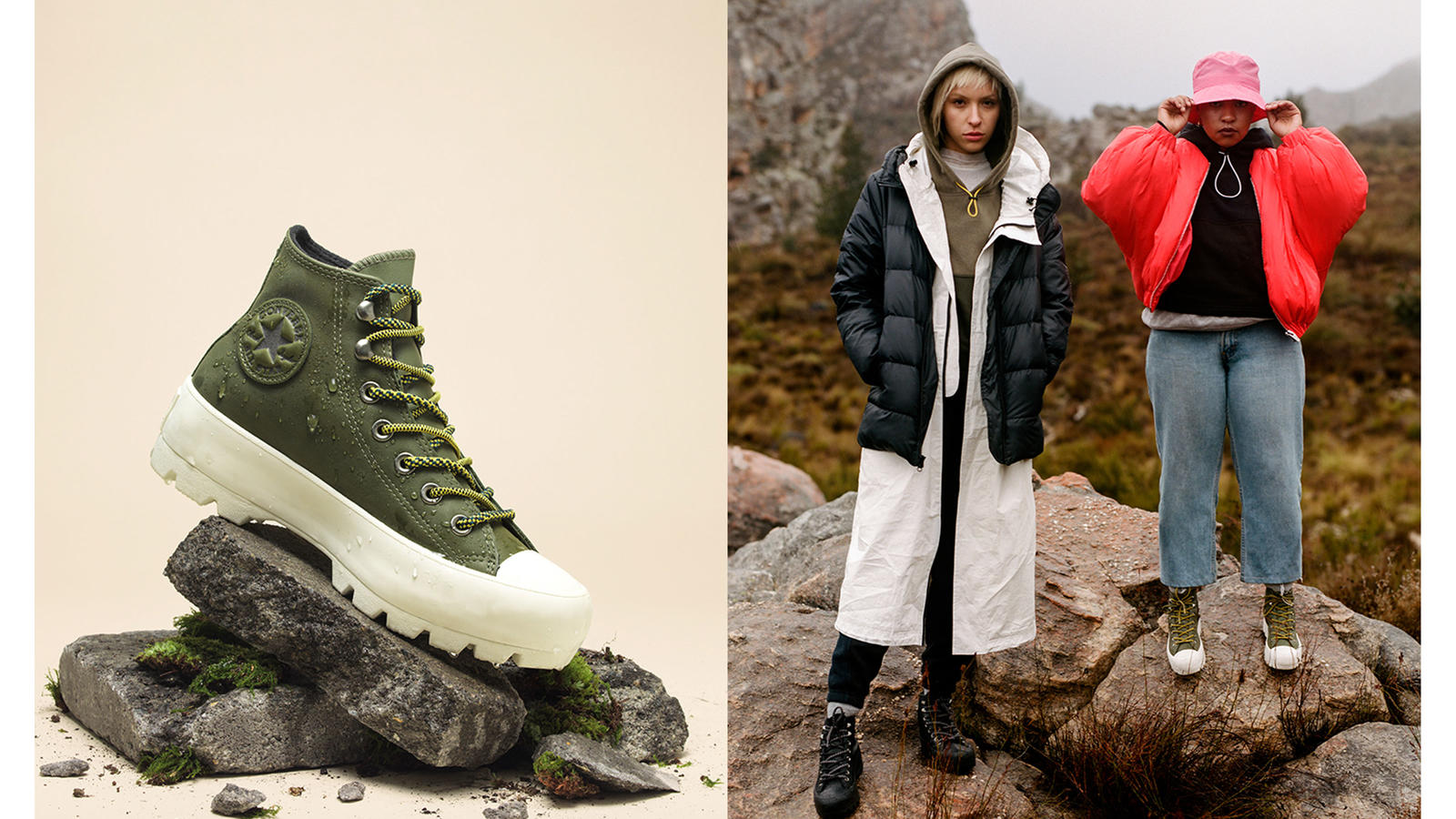 Chuck Taylor Lugged_Surplus Olive - Converse Mountain Club 2019 Collection