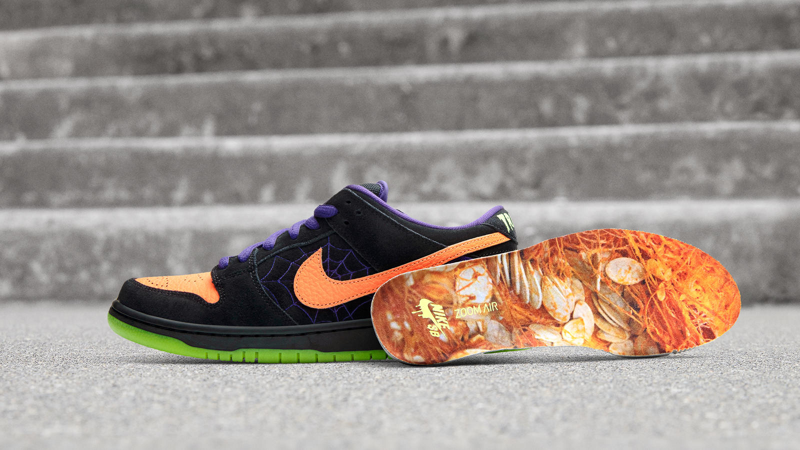 Nike SB Dunk Lo Night of Mischief Halloween 2