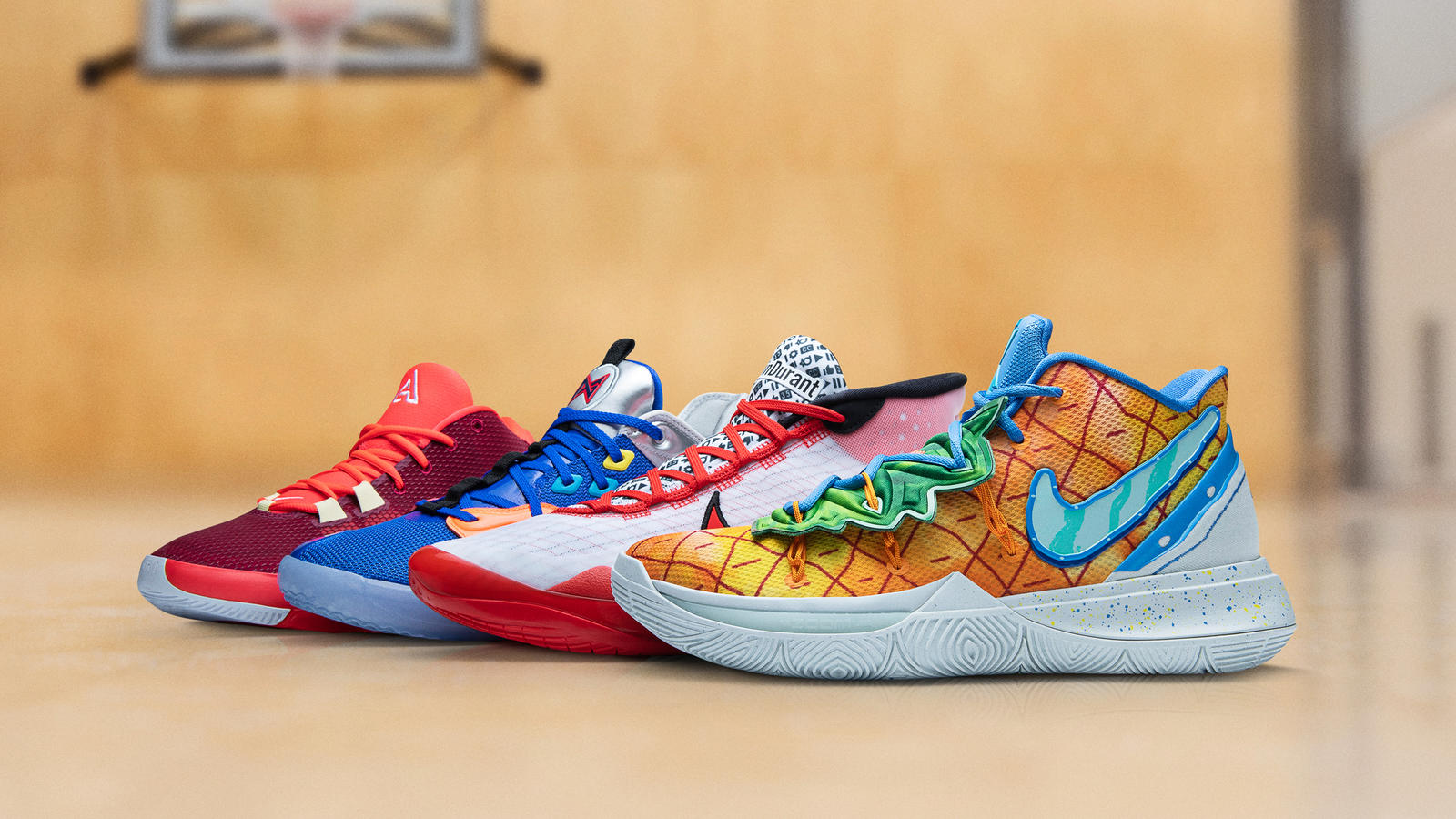 NBA Opening Week 2019-20 KYRIE 5, KD12, PG3, Air Zoom Freak 1 Official Images and Release Dates 9