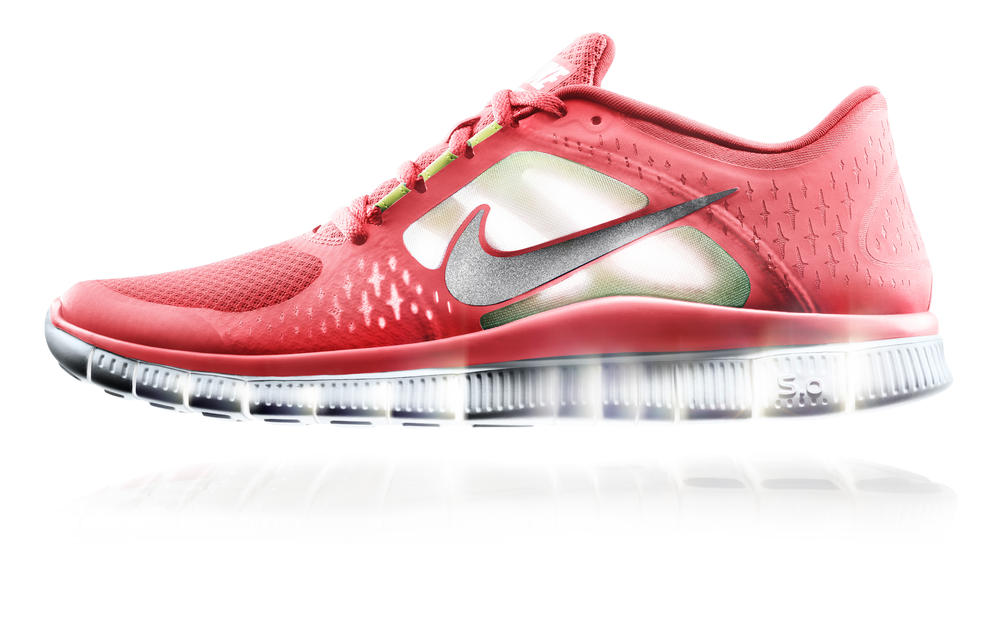 Nike Free: Natural Motion Inspired Design