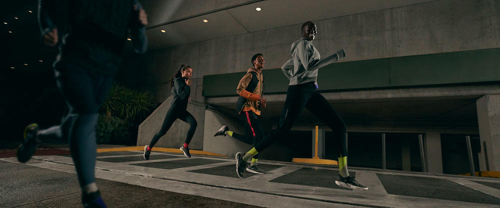 This Holiday Running Collection Curbs Wintertime Woes