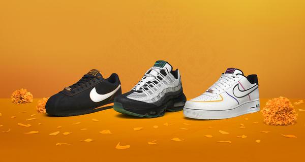 Nike Día de Los Muertos Day of the Dead