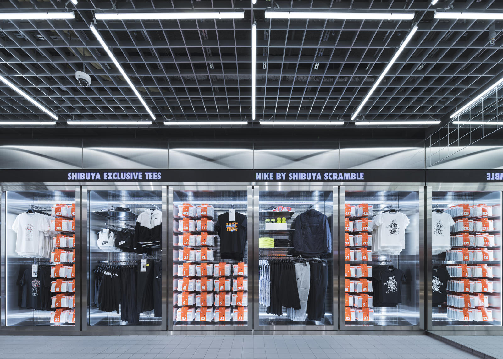 Nike Live Launches in Long Beach and Shibuya Scramble 3