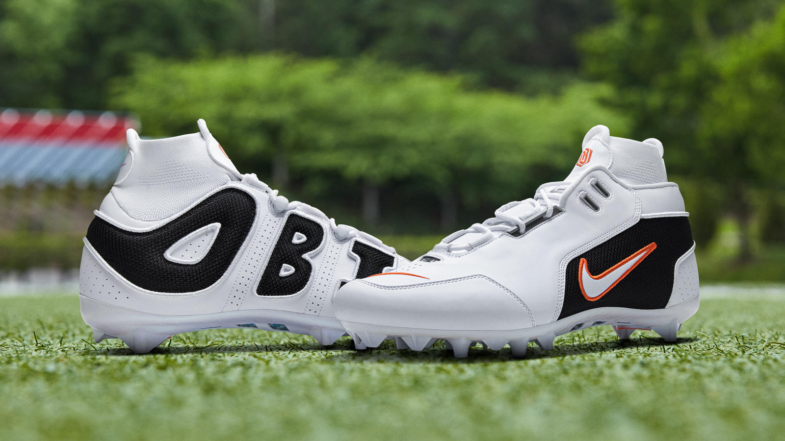 OBJ Week 9 Pregame Cleat Air Foamposite One Alternate Galaxy 2