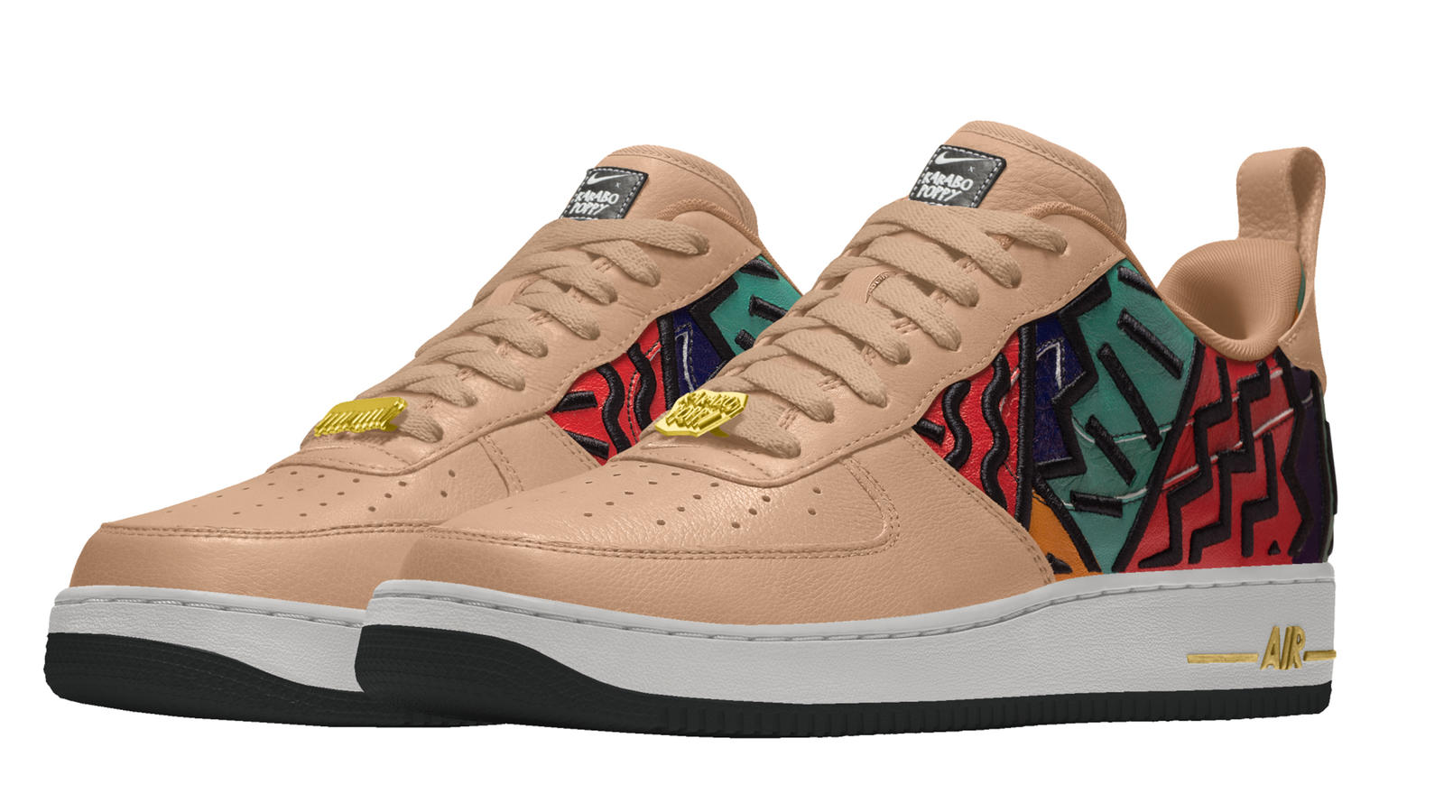 Karabo Poppy Nike By You Air Force 1 3