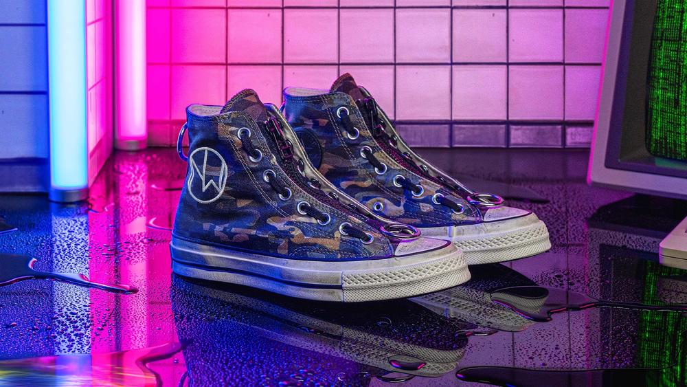 Converse x Undercover Introduces Graphic Camo Print