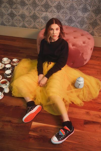 Converse x Millie Bobby Brown Official Images 0