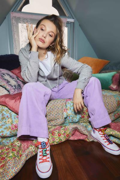 Converse x Millie Bobby Brown Official Images 1