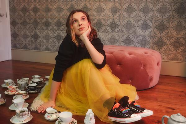Converse x Millie Bobby Brown Official Images 3