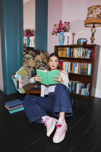 Converse x Millie Bobby Brown Official Images 10