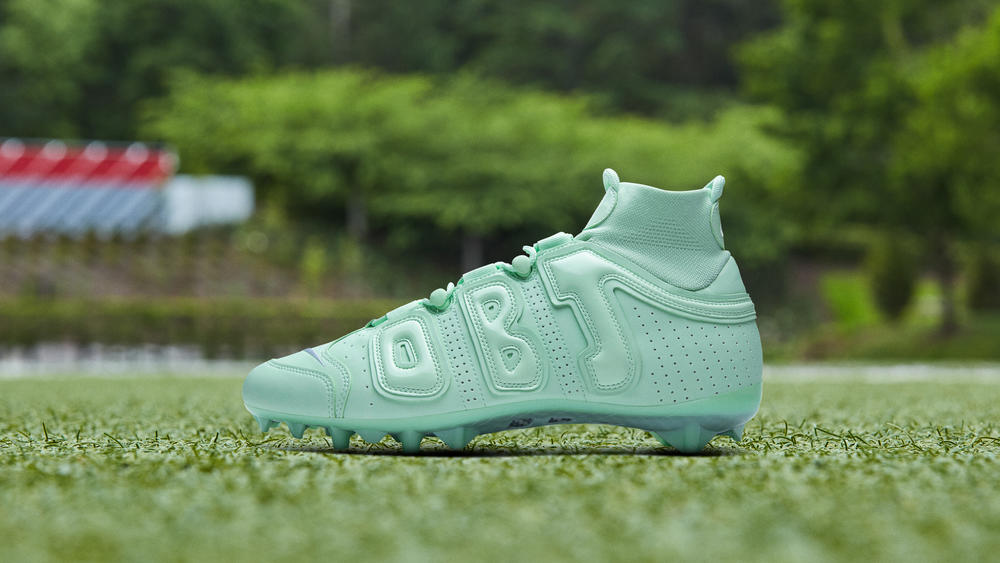 OBJ's Minty Fresh Week 10 Cleats