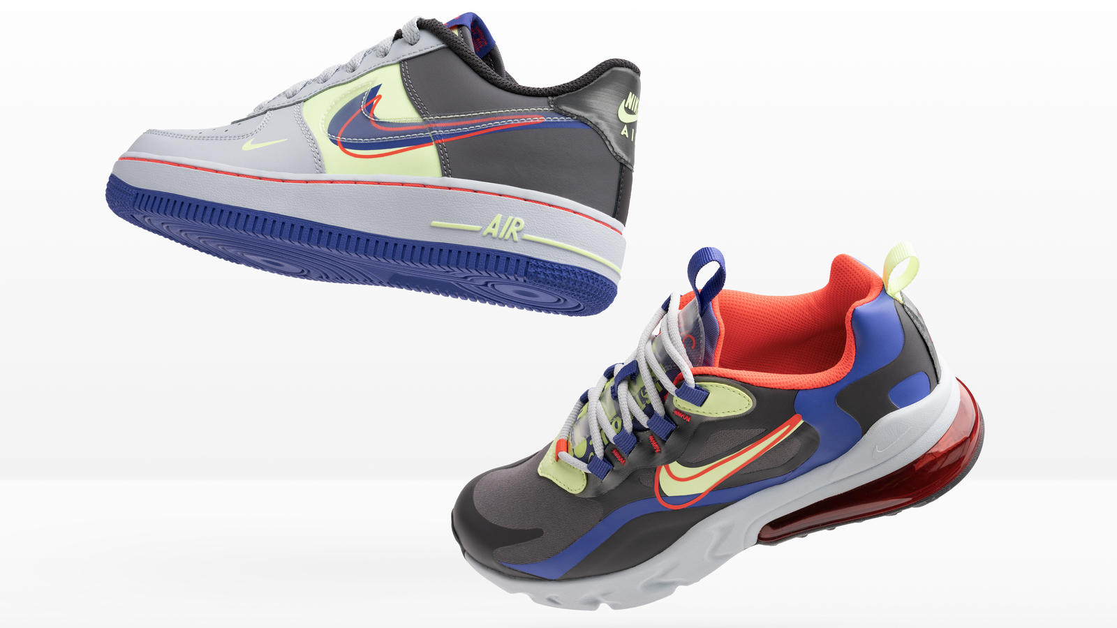 Nike And Foot Locker Inc Evolution Of Swoosh Chapter 2 Flight 89 Air Max 1 Air Max Plus Air Max 200 Air Force 1 React 270 Nike News