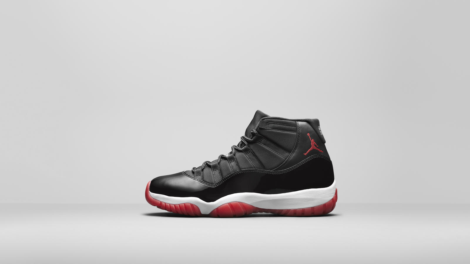 "Air Jordan 11 Black-True Red-White ""BRED"" Official 2019 Release Date 3"