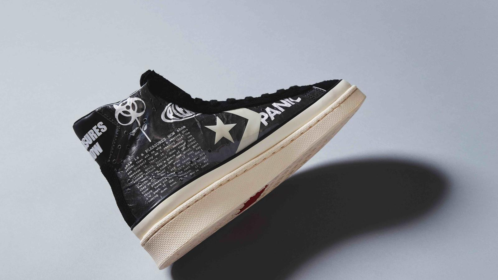Converse Pro Leather x Pleasures Collaboration 0