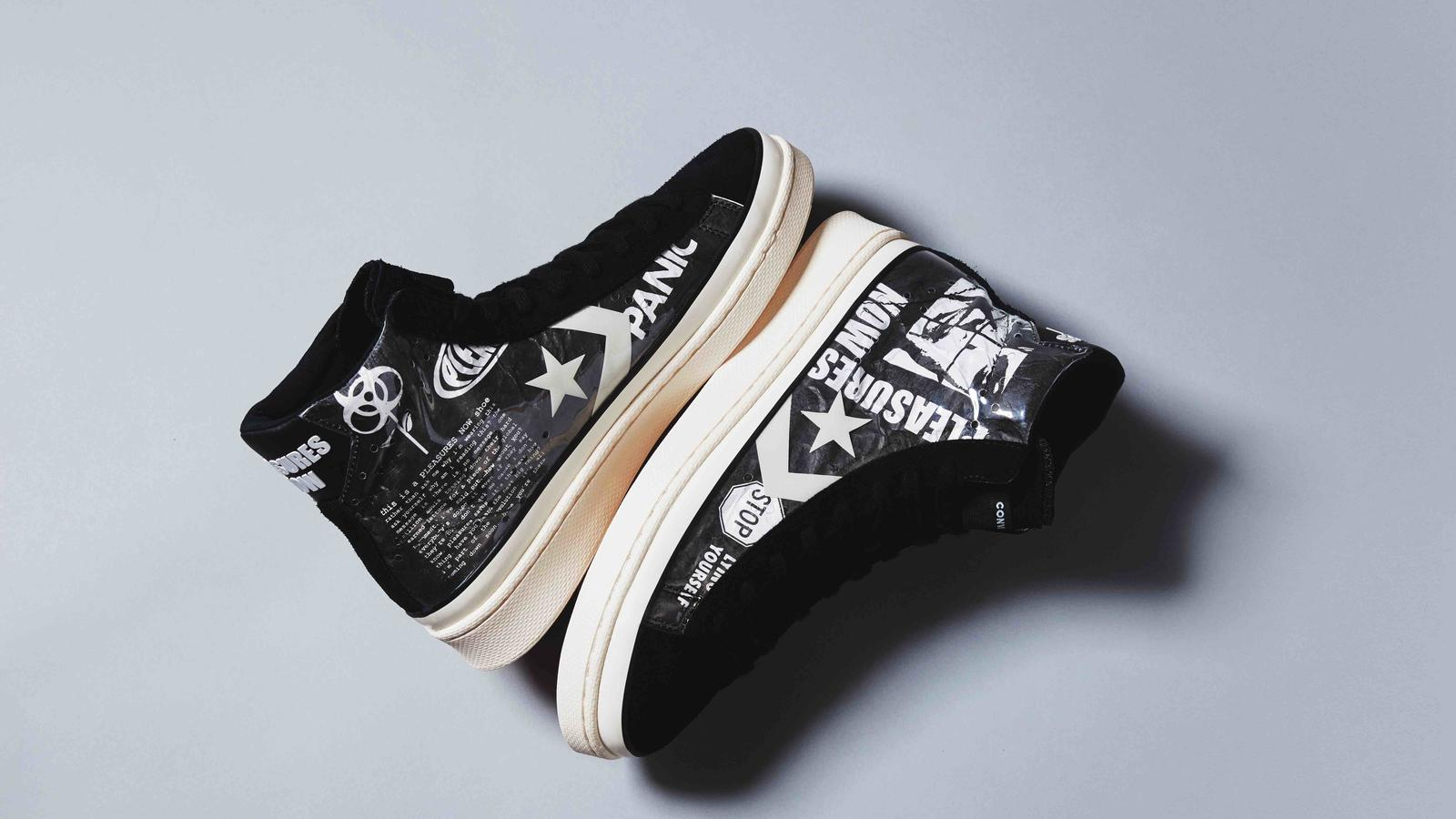 Converse Pro Leather x Pleasures Collaboration 1