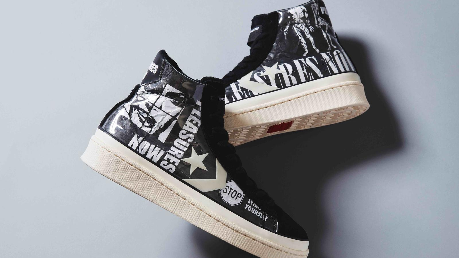 Converse Pro Leather x Pleasures Collaboration 2