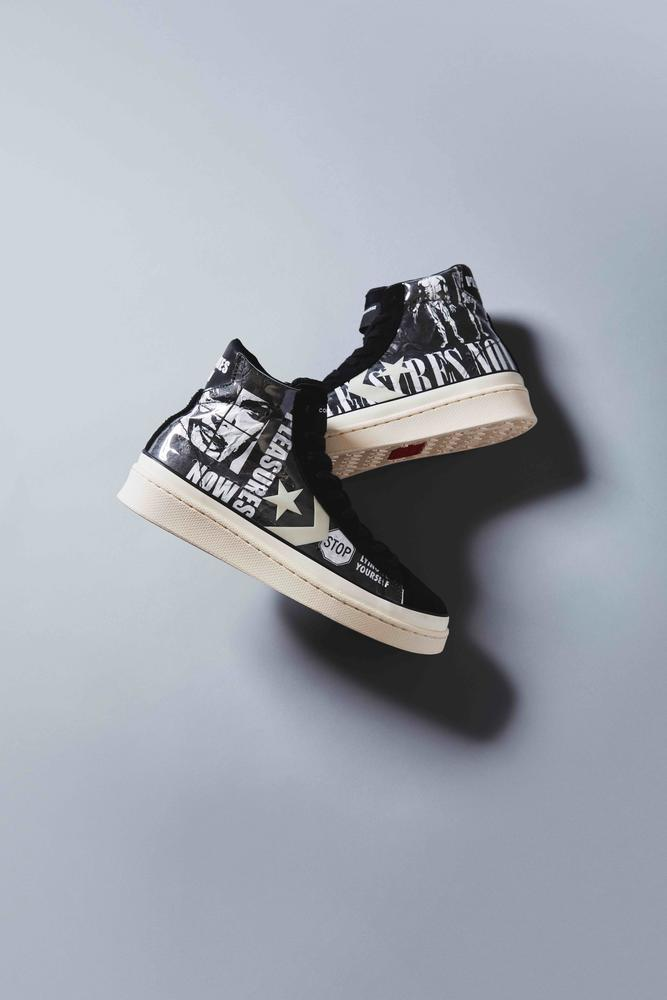 Converse Pro Leather Meets Punk with PLEASURES Collab