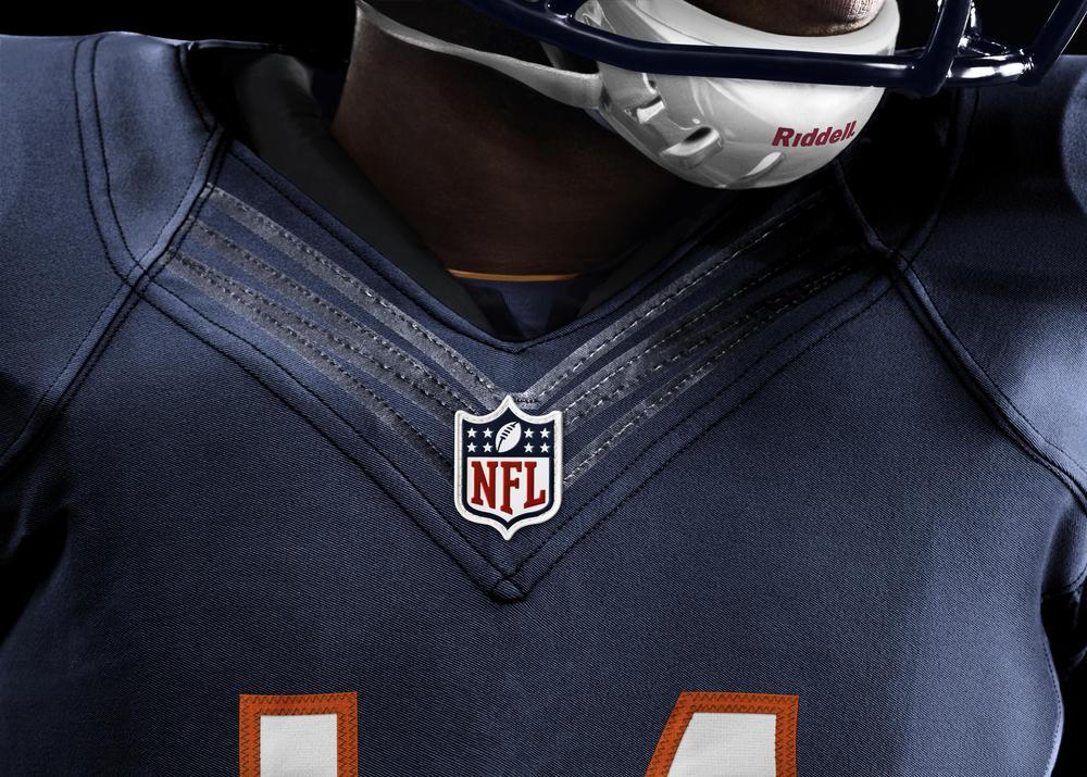 Chicago Bears 2012 Nike Football Uniform