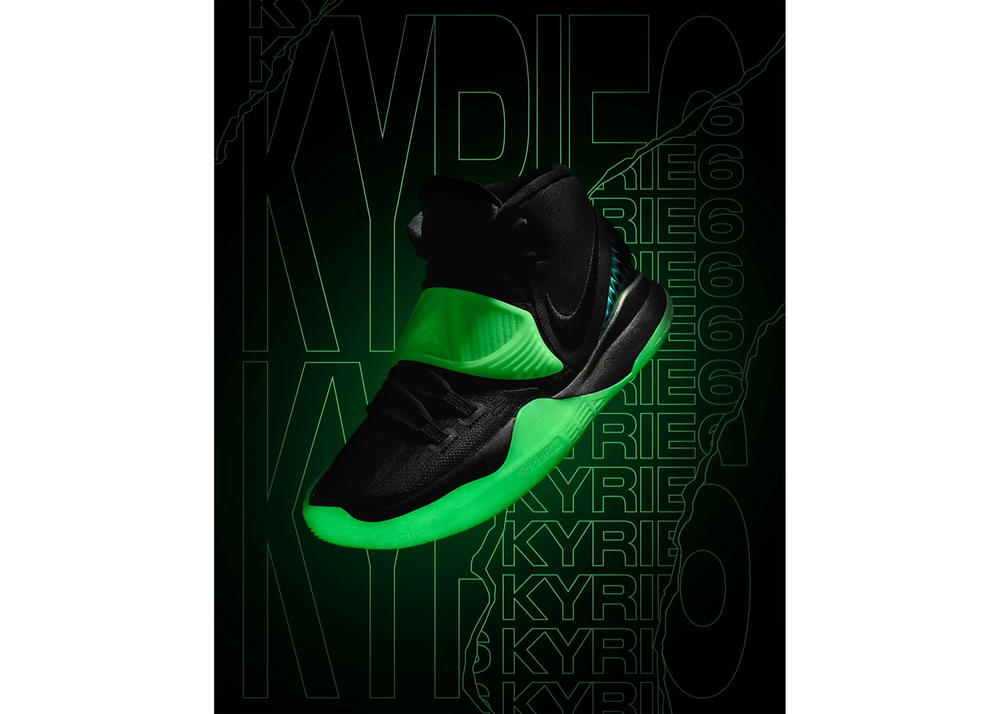 Go for Glow-in-the-Dark on the KYRIE 6