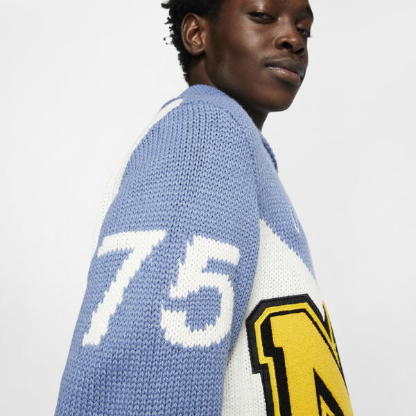 Nike Pro Club White Space Sweater Official Images 2