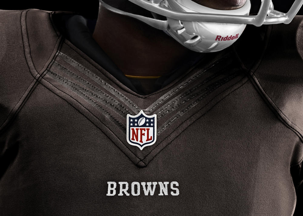 Cleveland Browns 2012 Nike Football Uniform