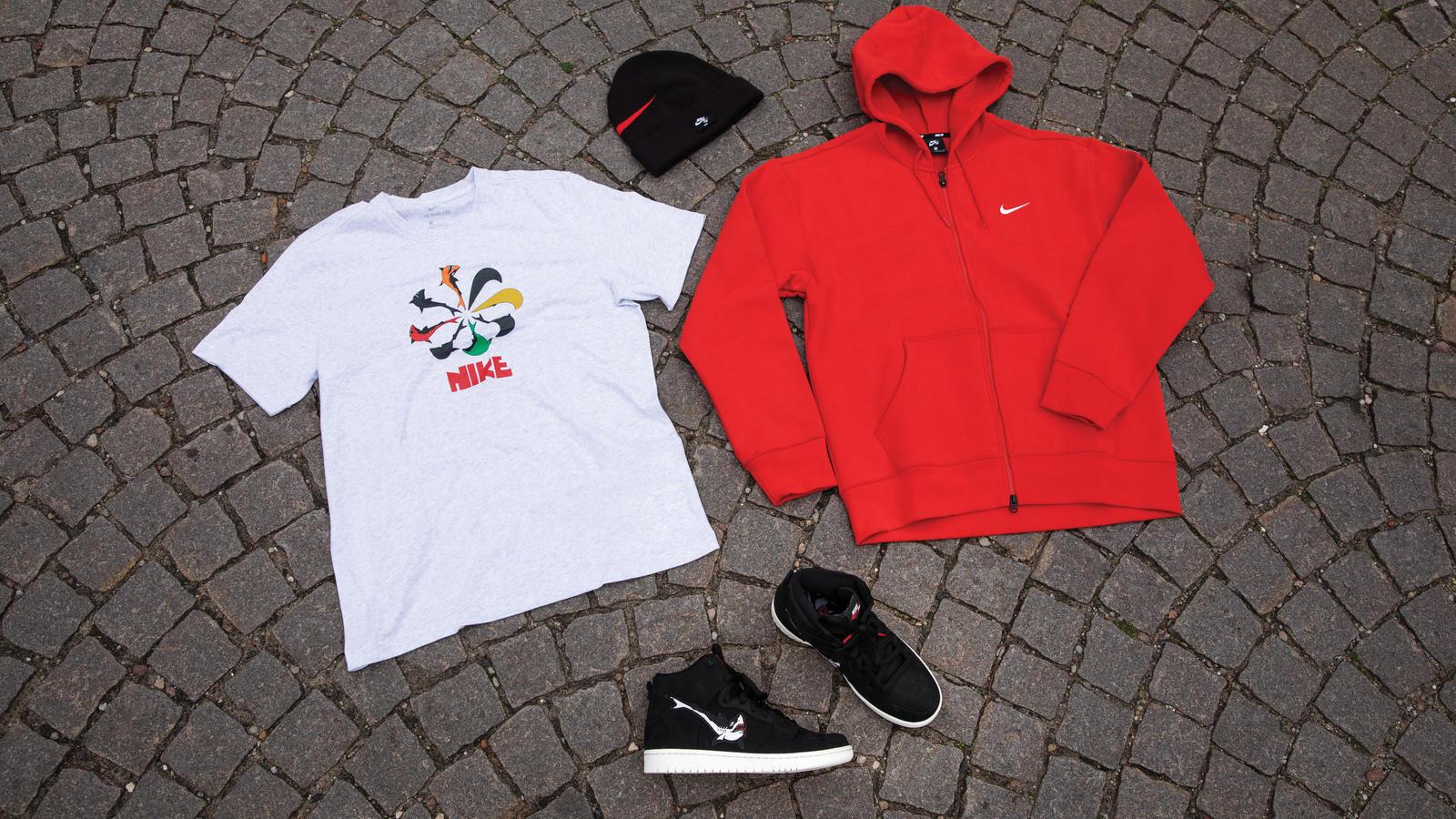 Nike SB Oski Orange Label Collection SB Blazer SB Dunk Apparel 0