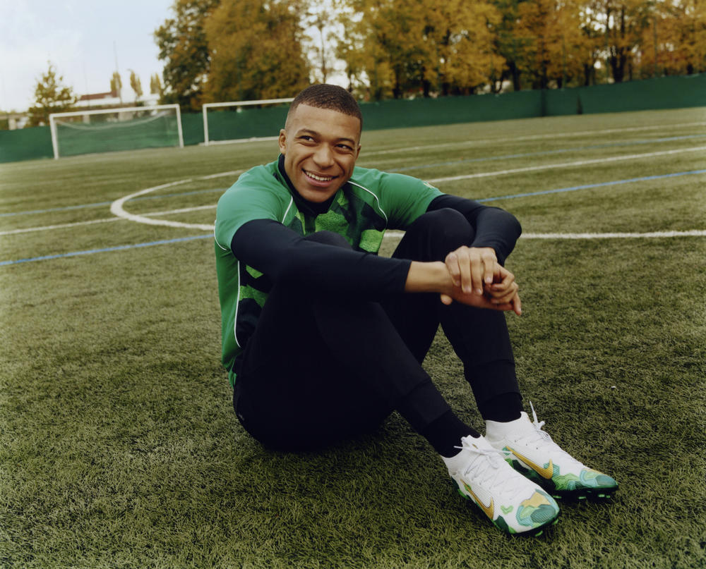 Kylian Mbappé's First Nike Collection Rooted in Bondy