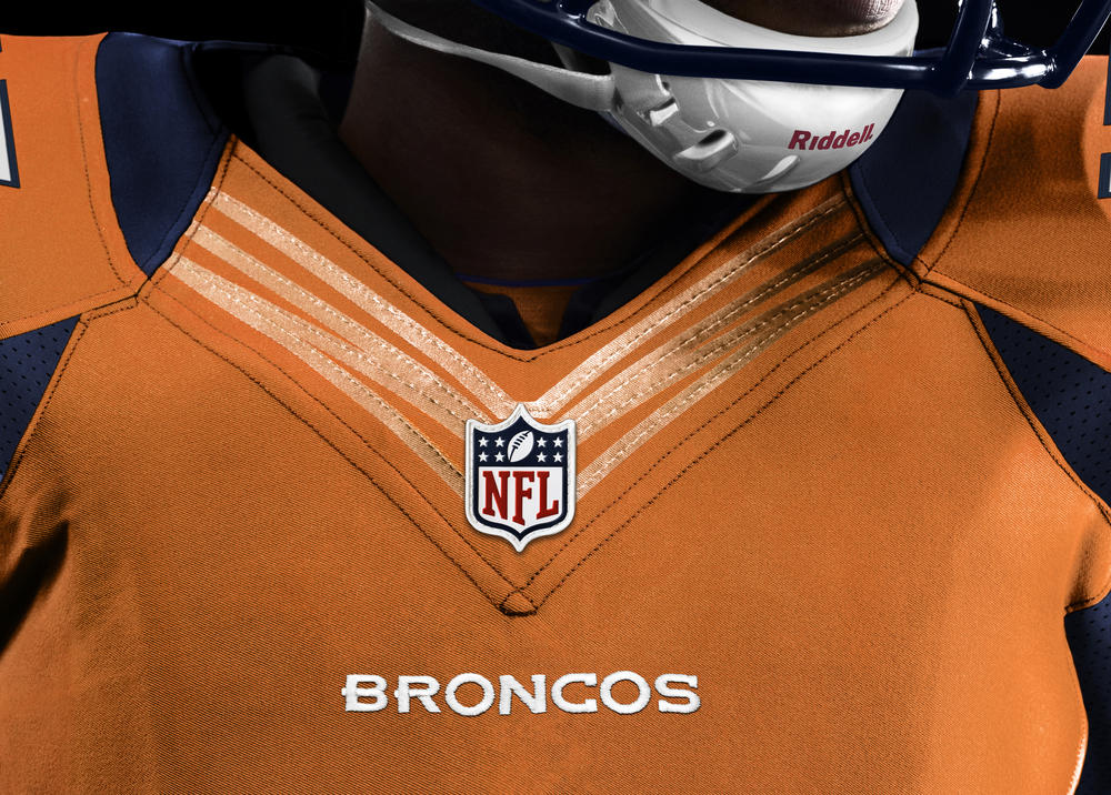 Denver Broncos 2012 Nike Football Uniform