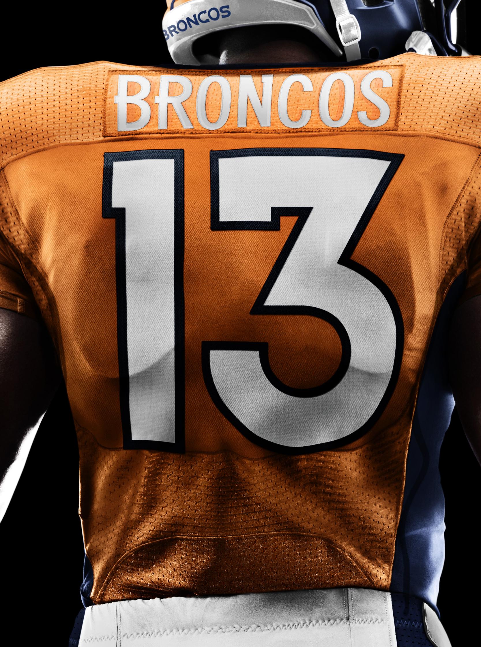 292d89d96de ... Denver Broncos 2012 Nike Football Uniform.