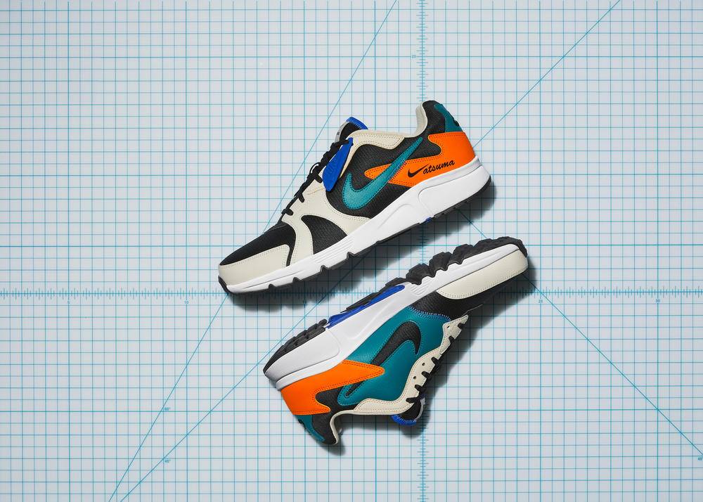 The Nike Atsuma Turns Negative Space into Positive (Aesthetic) Energy
