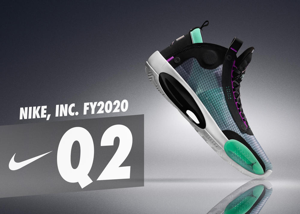 NIKE, Inc. Reports Fiscal 2020 Second Quarter Results