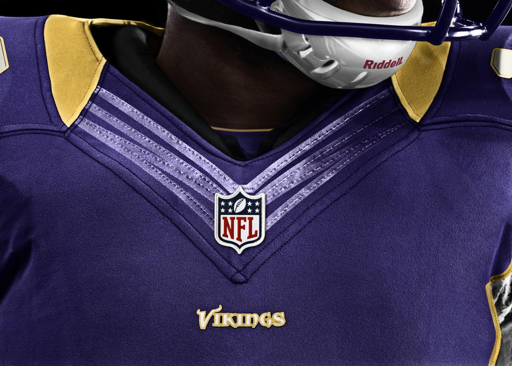 Minnesota Vikings 2012 Nike Football Uniform