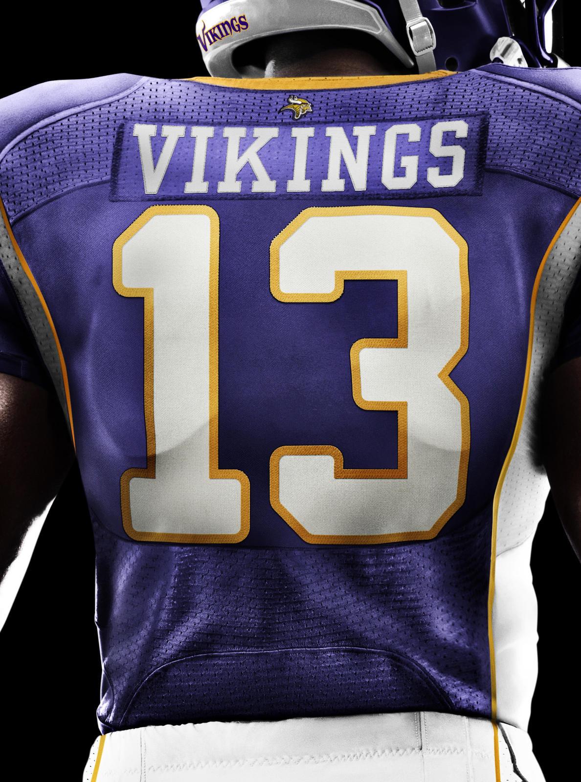 Minnesota Vikings Nfl Bath Towel Set All By Freemansalesgirl: Minnesota Vikings 2012 Nike Football Uniform