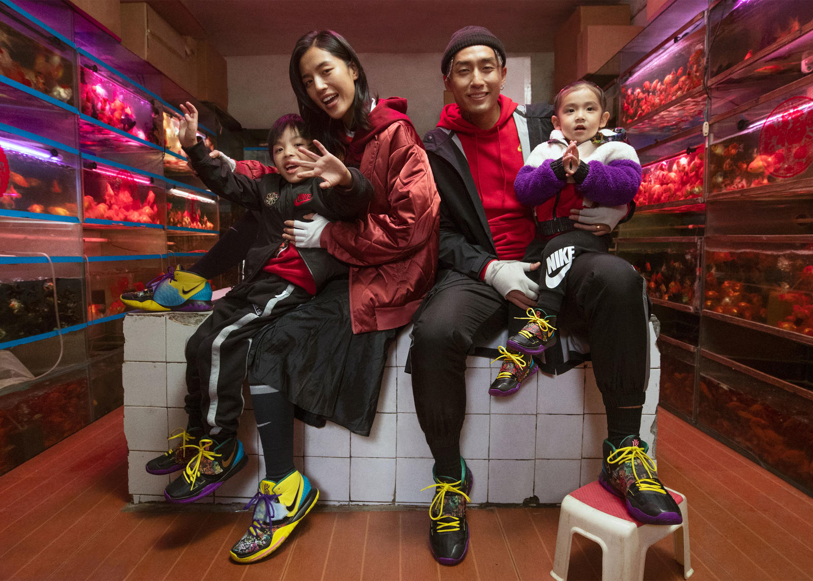 Nike Chinese New Year 2020 Year of the Rat Footwear and