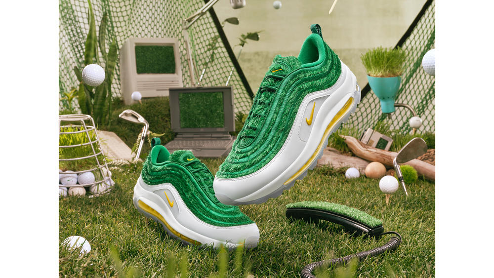 "How to Get the Nike Golf Air Max 97 ""Grass"""