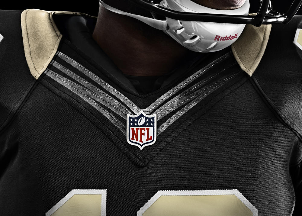 New Orleans Saints 2012 Nike Football Uniform