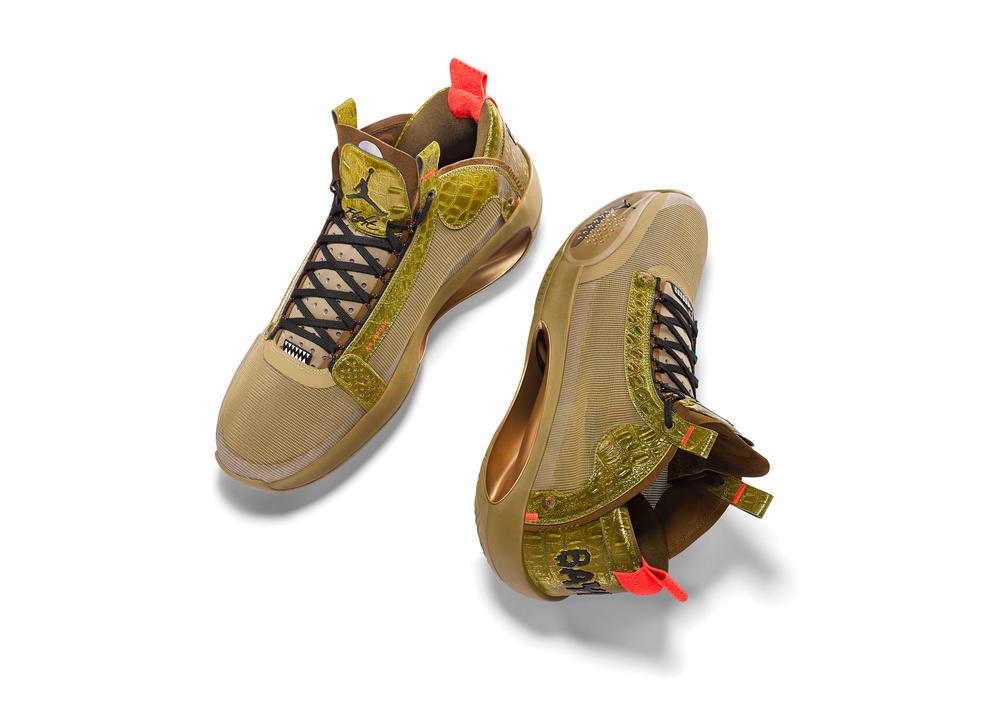 "Air Jordan XXXIV ""Bayou Boys"" PE for Zion Williamson"