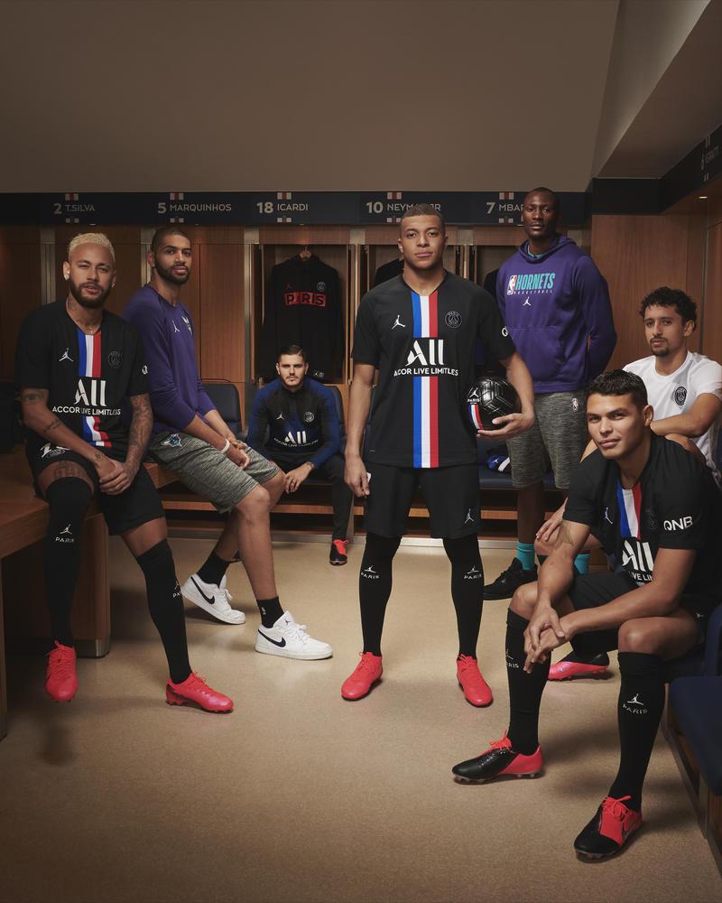 Jordan Brand x Paris Saint-Germain's Latest Kit