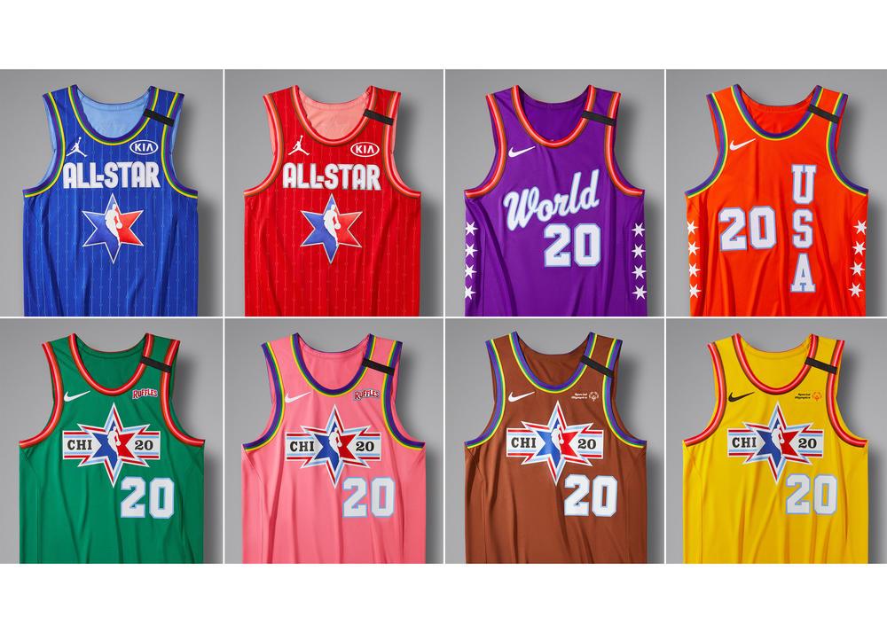The Jordan Brand and Nike NBA All-Star 2020 Uniforms Take the Transit Line Through Chicago